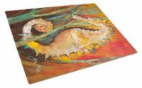 Carolines Treasures  JMK1142LCB Seahorse Glass Cutting Board Large