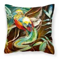 Mandarin Pheasant Canvas Fabric Decorative Pillow