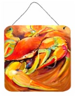 Carolines Treasures  JMK1250DS66 Crab Spice Wall or Door Hanging Prints