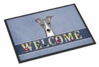 Italian Greyhound Welcome Indoor or Outdoor Mat 24x36 - 24Hx36W