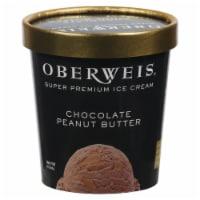 Oberweis® Chocolate Peanut Butter Ice Cream - 1 pt