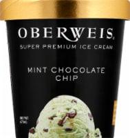 Oberweis® Mint Chocolate Chip Ice Cream - 1 pt