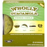 Wholly Guacamole  Three Chili Guacamole 8oz