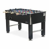KICK Triumph 55 Inch Recreational Multi Person Soccer Game Foosball Table, Black - 1 Piece