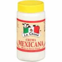 La Chona Crema Mexicana Mexican Style Cream