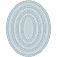 Tutti Designs - Scalloped Stitched Nesting Ovals - 1