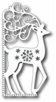 Tutti Designs - Dies - Scrolly Deer Edge - 1
