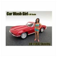 American Diorama 23842 Car Wash Girl Dorothy Figure for 1-18 Scale Models - 1