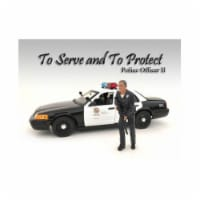 American Diorama 24032 Police Officer II Figure for 1-24 Scale Models