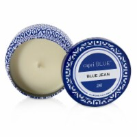 Capri Blue Printed Travel Tin Candle  Blue Jean 241g/8.5oz - 241g/8.5oz