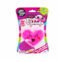 Compound Kings Neon Fluffy Cloudz Scented Heart Slime - 1 ct