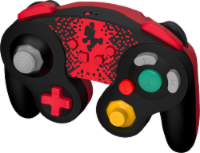 Power A Wireless GameCube Style Controller for Nintendo Switch - Red/Black - 1 ct