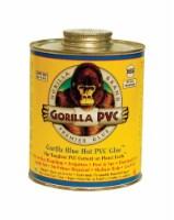 Gorilla PVC Hot Glue / Blue Glue Blue Solvent Cement For PVC 4 oz. - Case Of: 1; - Count of: 1