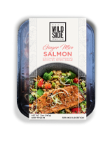 Wild Side Ginger Miso Salmon with Togarishi Spiced Brown Rice - 12 oz