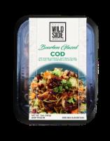 Wild Side Bourbon Glazed Cod with Wild Rice - 12 oz