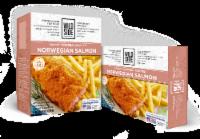 Wild Side Savory Cornmeal Crusted Norwegian Salmon