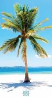 2022-2023 Tropical Beaches 2-Year Small Monthly Planner by TF Publishing - 1 ct