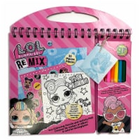 ECO-Coloring Pencils and Activity Pad - LOL Surprise!