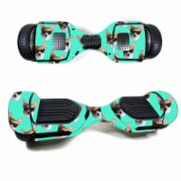 MightySkins SWT580-Cool Corgi Skin Decal Wrap for Swagtron T580 Hoverboard Sticker - Cool Cor - 1