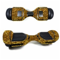 MightySkins SWT580-Gold Dazzle Skin Decal Wrap for Swagtron T580 Hover Board Sticker - Gold D