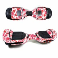 MightySkins SWT580-Red Petals Skin Decal Wrap for Swagtron T580 Hoverboard Sticker - Red Peta - 1