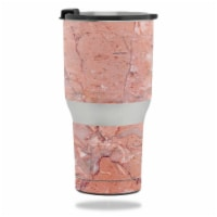 MightySkins RTTUM2017-Pink Marble Skin for RTIC 20 oz Tumbler 2017 - Pink Marble - 1