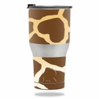 MightySkins RTTUM3017-Giraffe Skin for RTIC Tumbler 30 oz 2017 - Giraffe