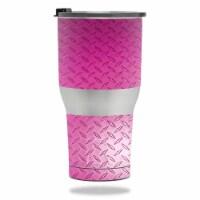 MightySkins RTTUM3017-Pink Diamond Plate Skin for RTIC Tumbler 30 oz 2017 - Pink Diamond Plat - 1