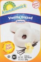 Kinnikinnick Vanilla Glazed Donuts 6 Count