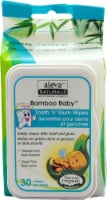 Aleva Naturals  Bamboo Baby® Tooth 'n' Gum Wipes