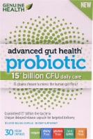 Genuine Health Advanced Gut Health Probiotic Daily Care Capsules