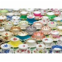 Outset Media Games OM80034 Tea Cups Puzzle  1000 pieces - 1000