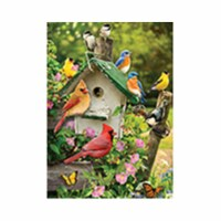 Outset Media Games OM58876 Singing Around the Birdhouse Tray Puzzle, 35 Piece