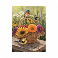Outset Media Games OM58886 Bluebird & Bouquet Puzzle Tray, 35 Piece