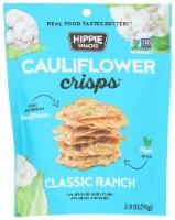 Hippie Snacks Classic Ranch Cauliflower Crisps - 2.5 oz