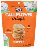 Hippie Snacks Cheeze Cauliflower Crisps - 2.5 oz