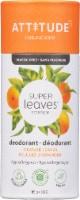 Attitude Super Leaves Science Orange Leaves Deodorant - 3 oz