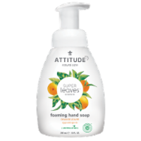 Attitude Super Leaves Orange Leaves Foaming Hand Soap