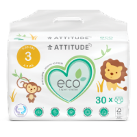 Attitude Biodegradable Size 3 Diapers