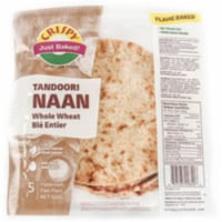 Crispy Tandoori Naan Whole Wheat (5 Pcs) - 500 Gm