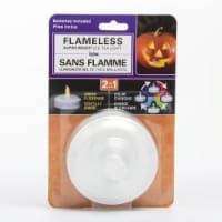 Inglow Jumbo Plastic Color Changing Tea Light