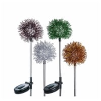 Paradise 8892713 Assorted Color Starburst Outdoor Garden Stake - Pack of 16