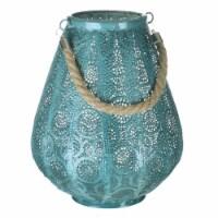 Paradise Lighting 8015979 LED Metal Lantern, Turquoise - 1