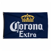 Corona Extra 794924 Corona Extra Navy Blue Flag - 1