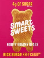 Smart Sweets Fruity Gummy Bears 12 Count