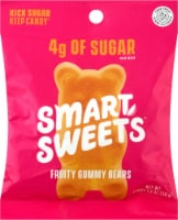 Smart Sweets Fruity Gummy Bears - 1.8 oz