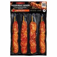 Marcangelo Sweet BBQ Flavor Chicken Breast Skewers - 4 ct / 4 oz