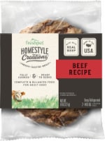 Freshpet Homestyle Creations Natural Beef Patties