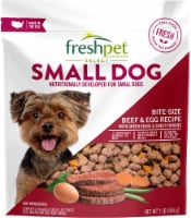 Freshpet Select Bite-Size Beef and Egg Recipe Small Dog Food