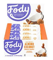 Fody Foods  Food Bars Low Fodmap   Almond Coconut